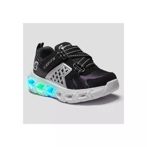 Skechers男小童运动鞋,鞋底可亮灯