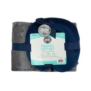 Bon Voyage旅行枕+毯子
